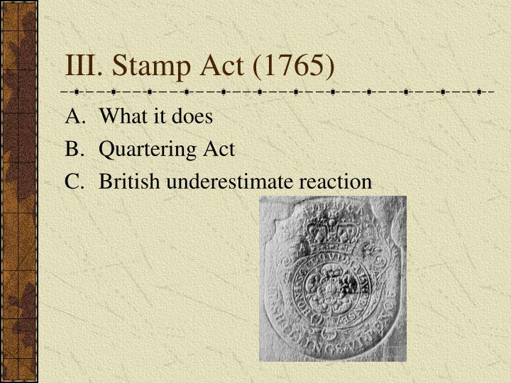 quartering act of 1765 essay 3 1765-66: stamp act crisis 4 1767-69 it continued to refuse to comply fully with the quartering act of 1765  essays published in colonial.