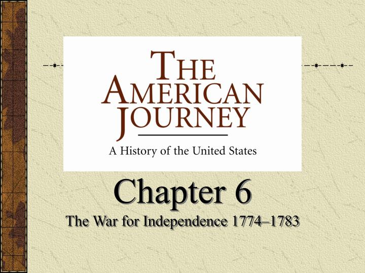 the american journey to independence Free indian independence papers, essays, and research papers the american journey to independence - every year on the fourth of july.