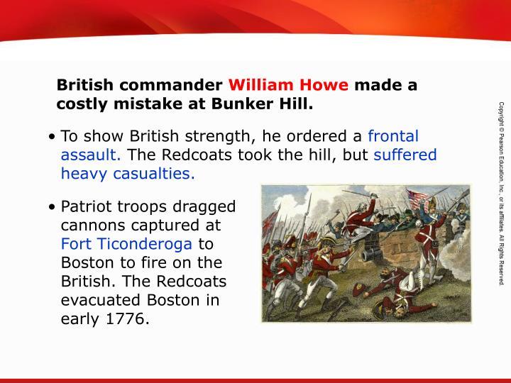 British commander