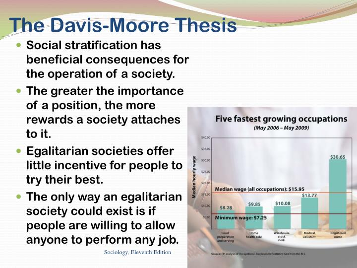 what is davis moore thesis