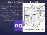 key concept 3 1 i cont