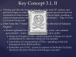 key concept 3 1 ii