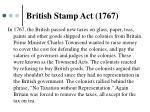 british stamp act 1767
