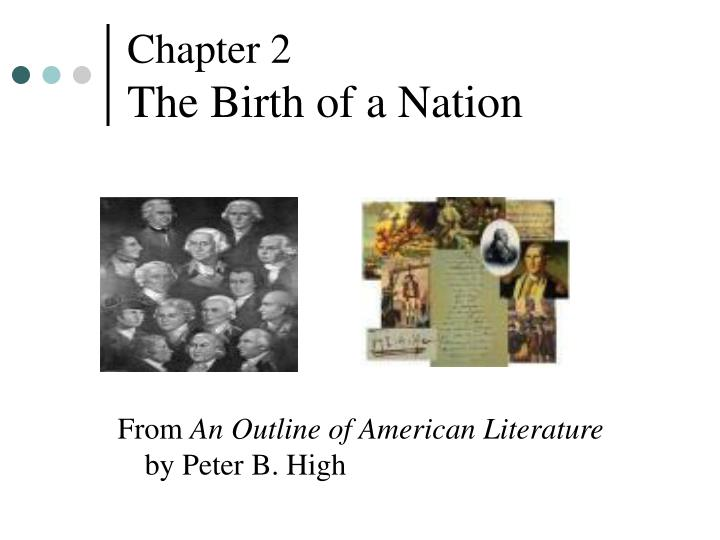 chapter 2 the birth of a nation n.
