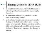 thomas jefferson 1743 18261