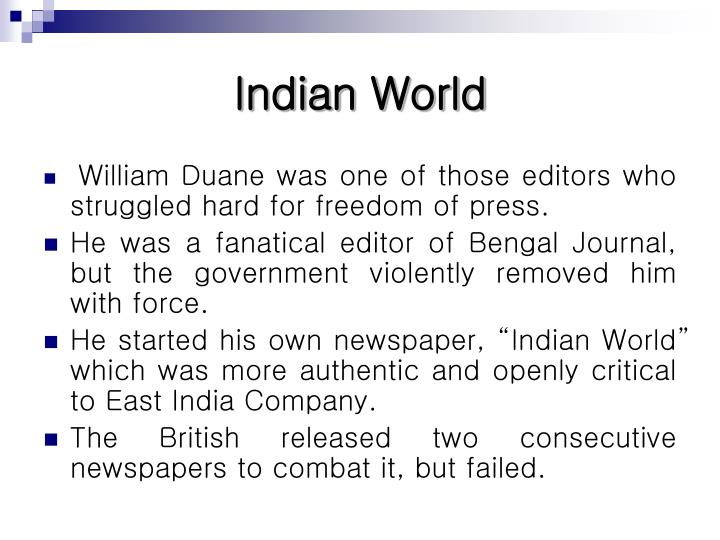 Indian world