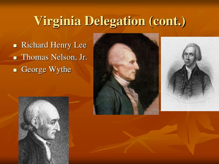 Virginia Delegation (cont.)