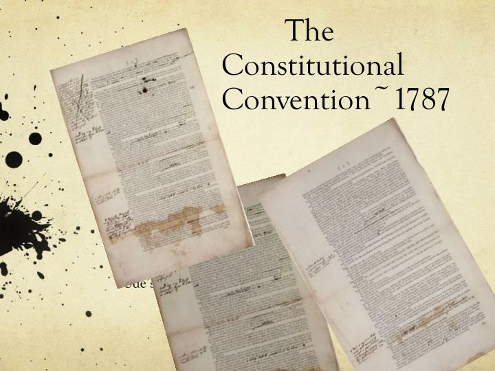 the constitutional convention 1787 n.