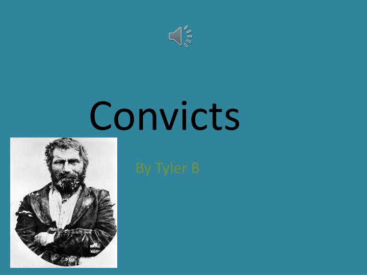 convicts n.