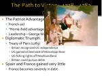 the path to victory 1778 1783 cont