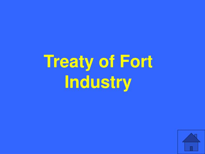 Treaty of Fort Industry