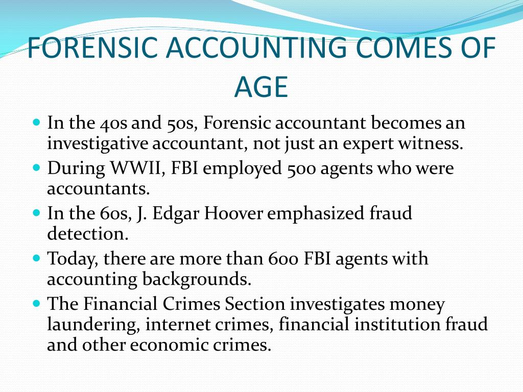 Ppt The Hottest Jobs For College Grads Forensic Accountant Powerpoint Presentation Id 5838911