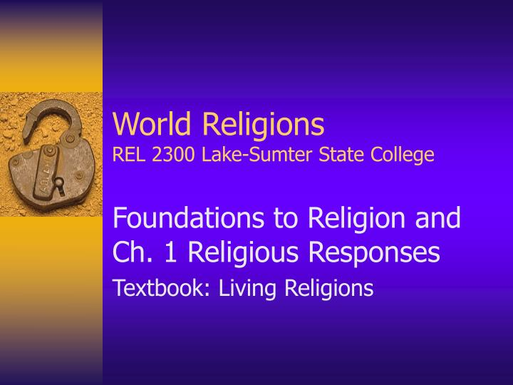 world religions rel 2300 lake sumter state college n.