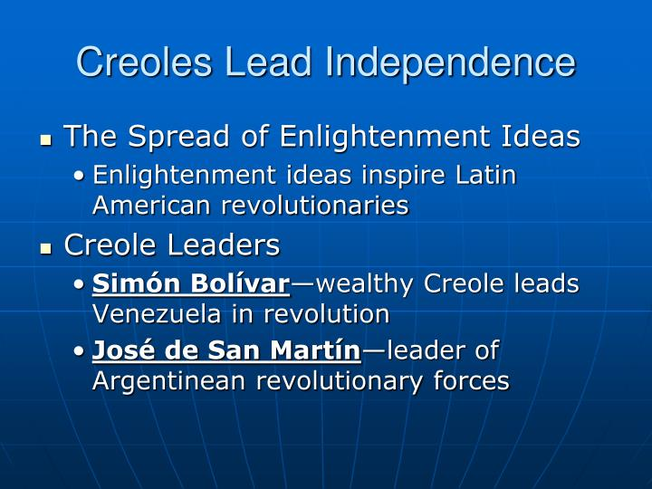 enlightenment period effect on latin america The most influential enlightenment thinkers were thomas hobbes, john locke, voltaire, baron de montesquieu,  the french revolution, and the latin american revolutions despot a cruel and oppressive dictator these monarchs are called enlightened despots french revolution  a period of indeterminate length marked by some action.