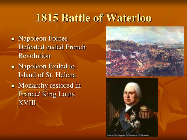 1815 battle of waterloo