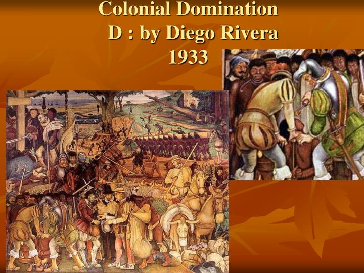 Colonial Domination