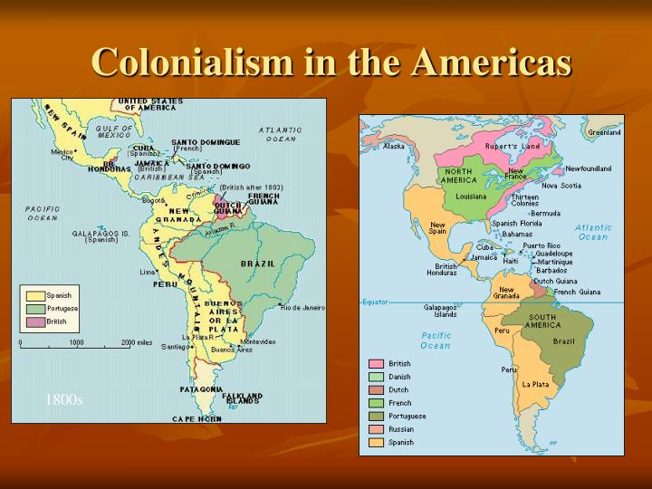 Colonialism in the Americas