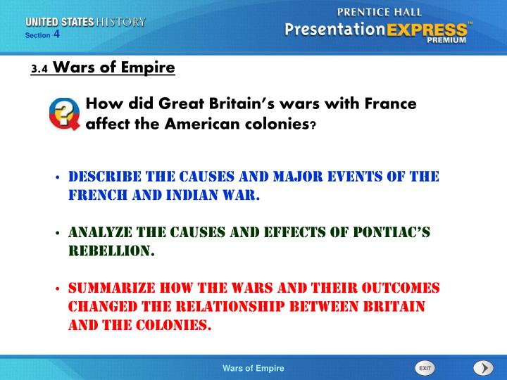 an analysis of the causes and outcomes of the french and indian war