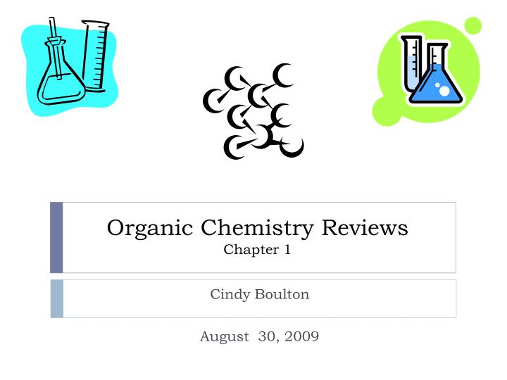 organic chemistry reviews chapter 1 n.