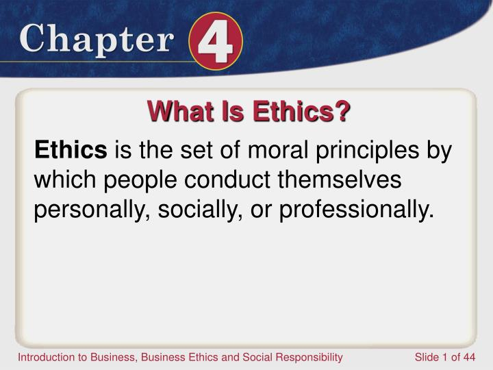 what is business ethics Definition of business ethics: the examination of the variety of problems that can arise from the business environment, and how employees, management.
