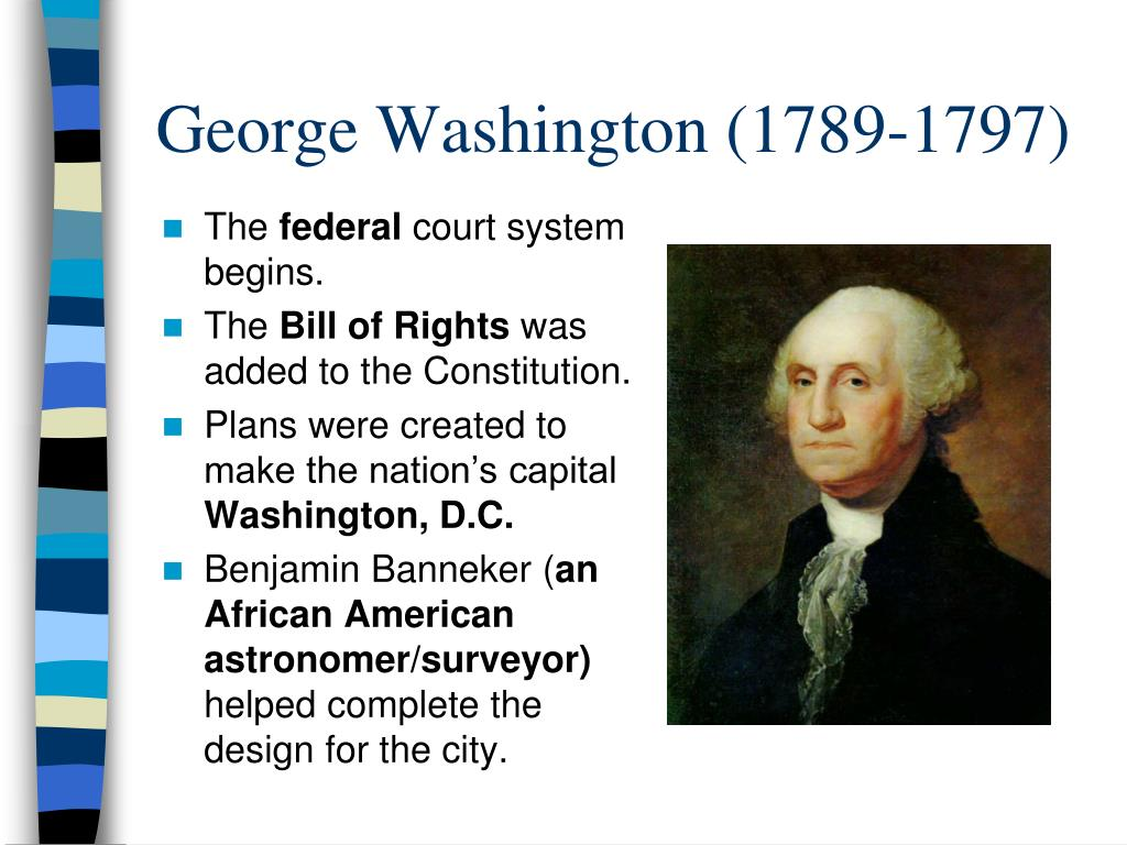 ppt - the first five presidents powerpoint presentation