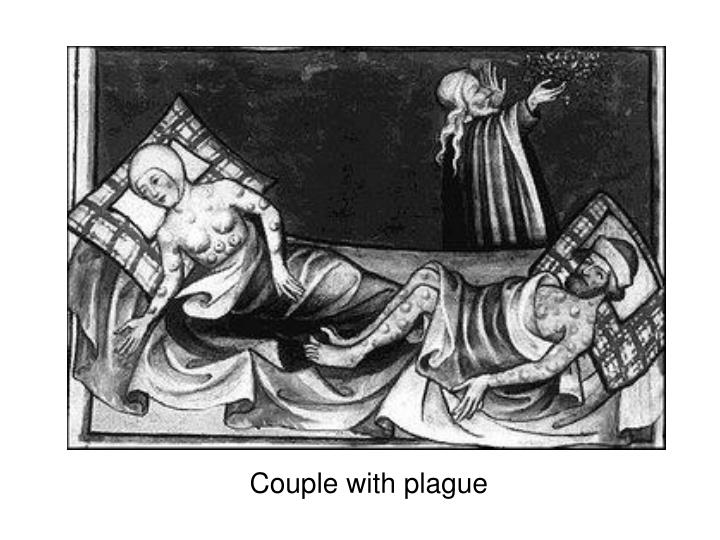 Couple with plague