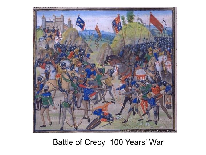 Battle of Crecy  100 Years' War