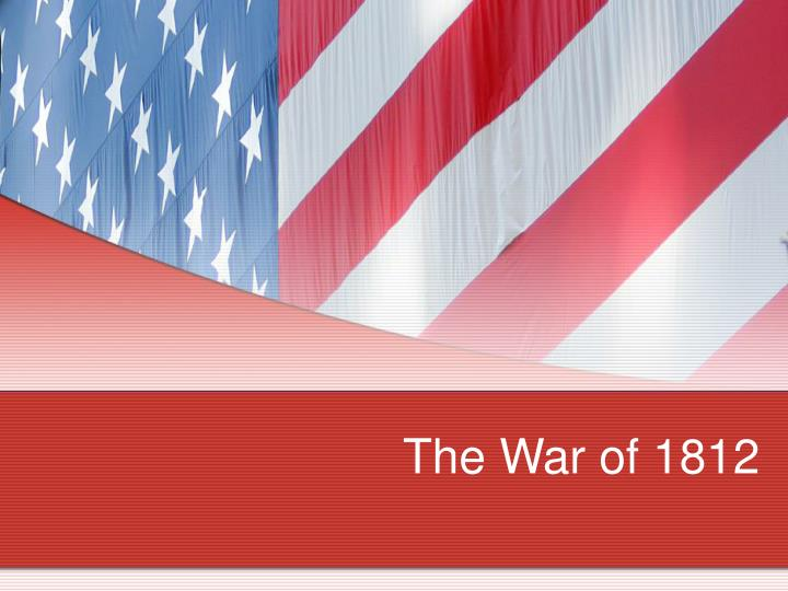 the war of 1812 n.