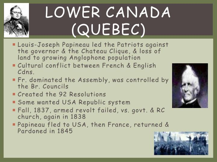 Lower Canada (Quebec)