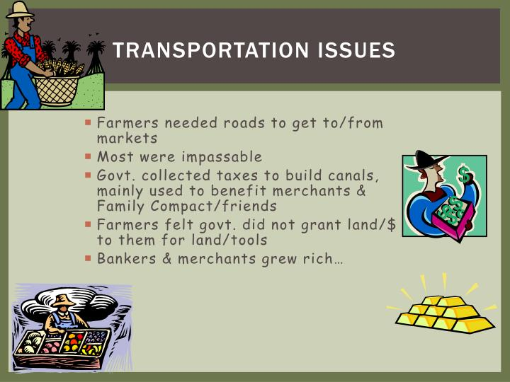 Transportation Issues