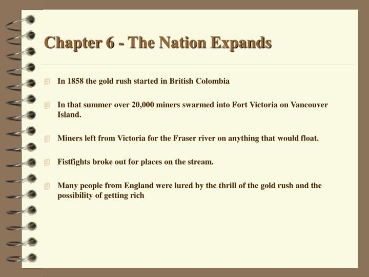 chapter 6 the nation expands n.