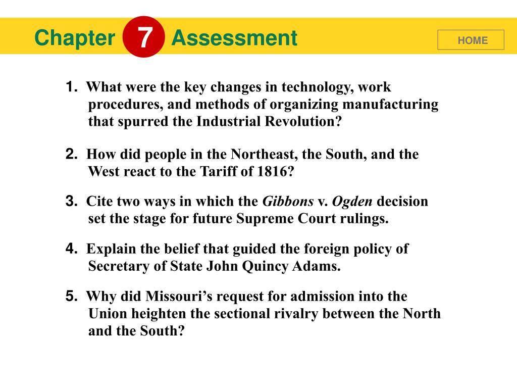 PPT - Balancing Nationalism and Sectionalism PowerPoint ...