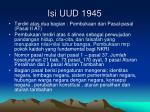 isi uud 1945
