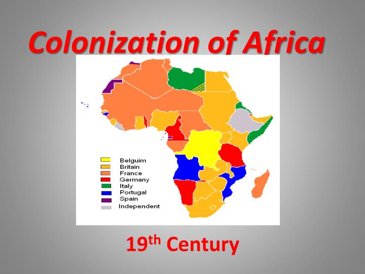 colonization of africa n.