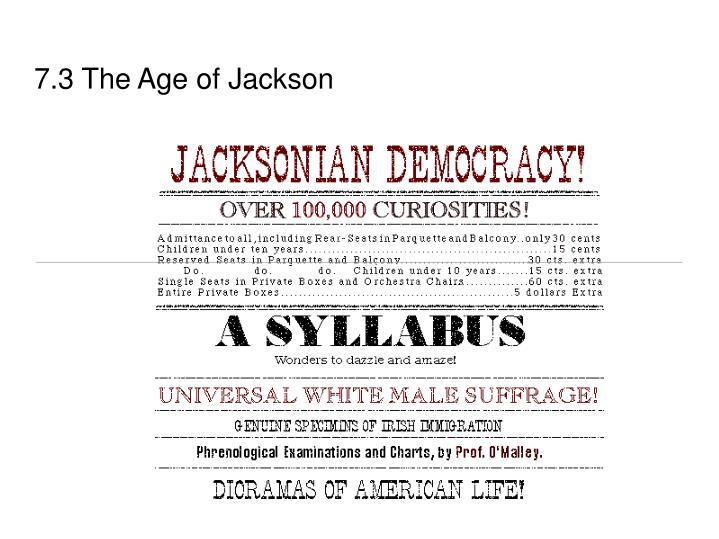 7 3 the age of jackson n.