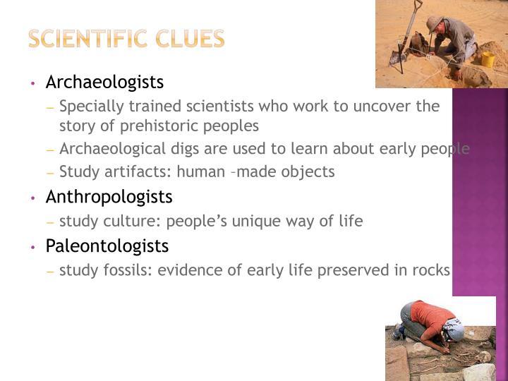 Scientific Clues