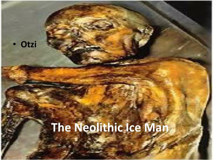 The Neolithic Ice Man