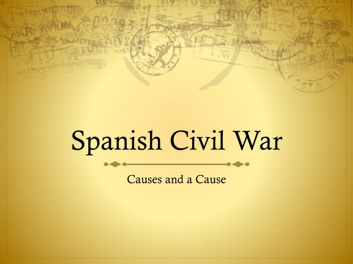 causes for the civil war essay