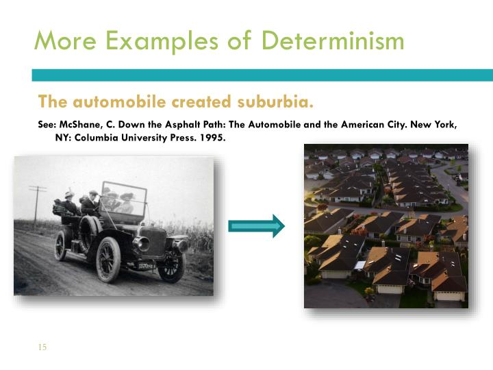 More Examples of Determinism