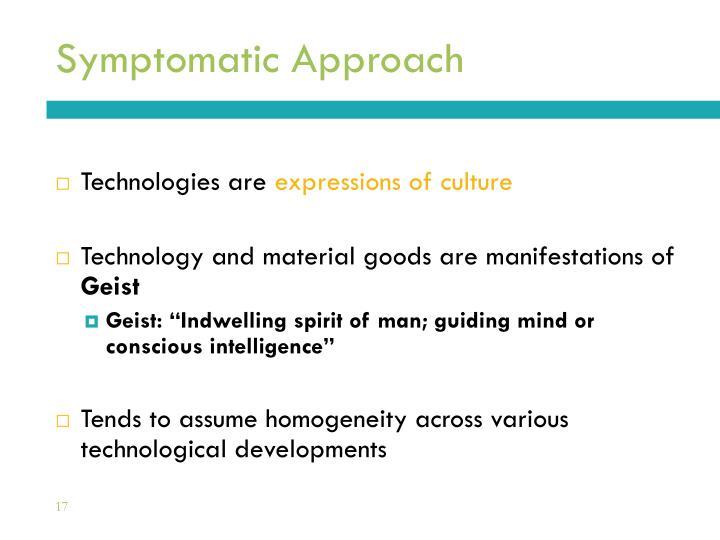 Symptomatic Approach