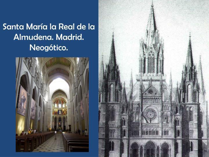 Santa María la Real de la Almudena. Madrid.