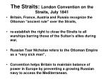 the straits london convention on the straits july 1841