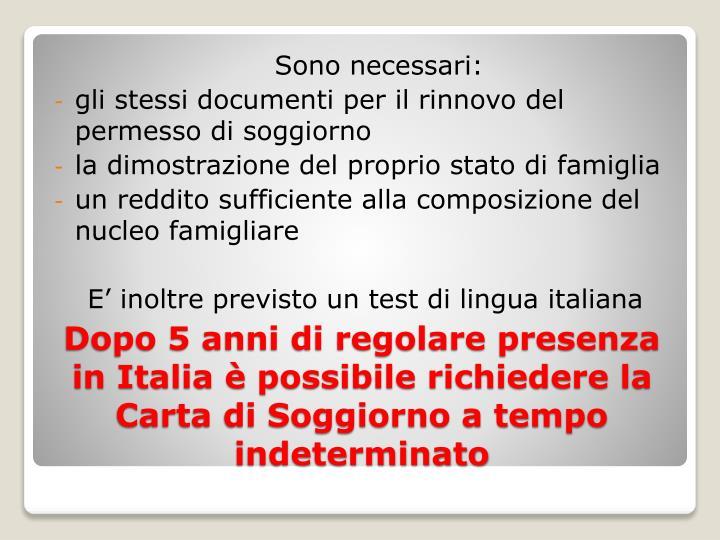Best Carta Di Soggiorno Tempo Indeterminato Gallery - Idee ...