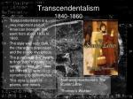transcendentalism 1840 1860