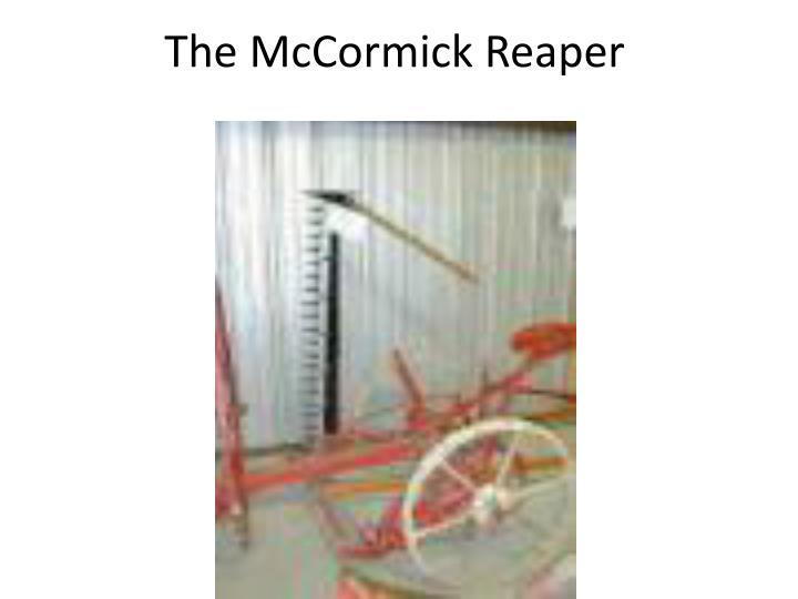 The McCormick Reaper