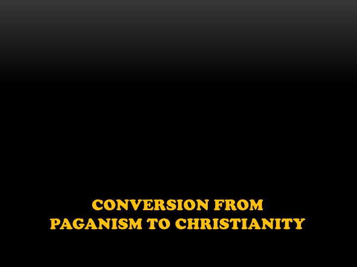Conversion from