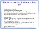 gladstone and the first home rule bill