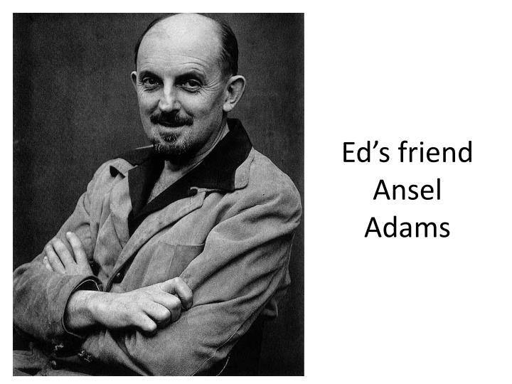 Ed's friend