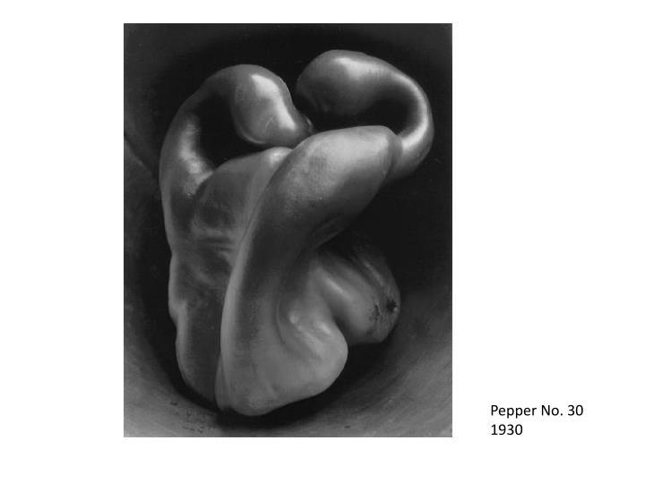 Pepper No. 30  1930