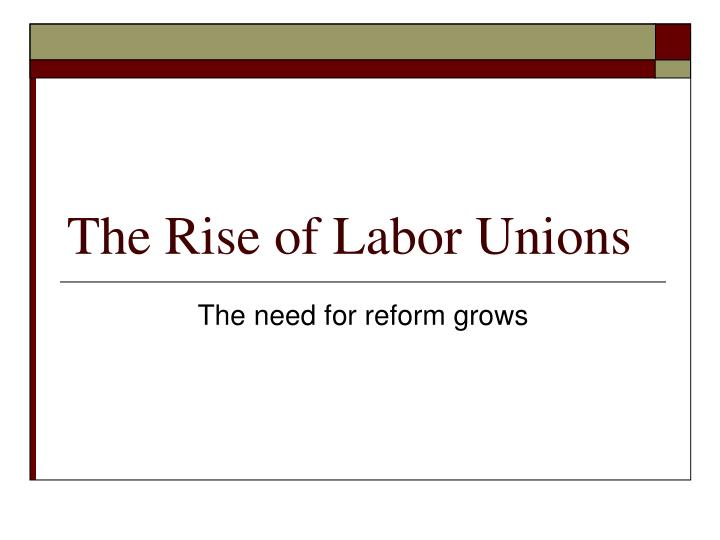 history of formations of labor unions One big union with the merger of the afl and the cio in 1955, organized labor reached the apex of its power almost one third of american workers were union members.